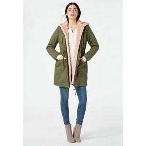 NWT Parka with Faux Fur